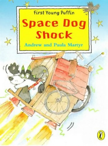 Space Dog Shock By Andrew Martyr