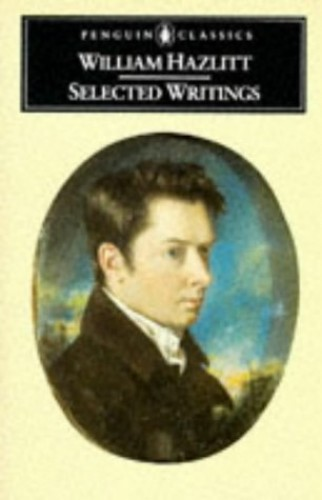 Hazlitt By William Hazlitt
