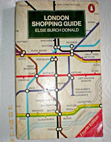 London Shopping Guide (Penguin Handbooks) By Elsie Burch Donald