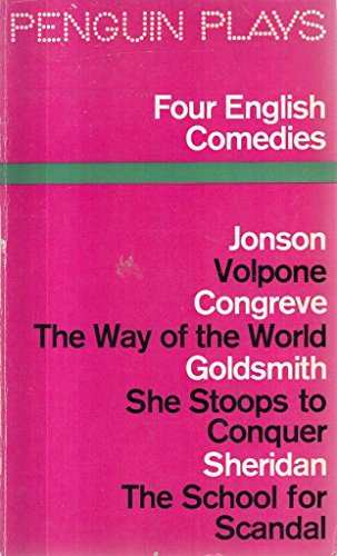 Four English Comedies By Edited by J.M. Morrell