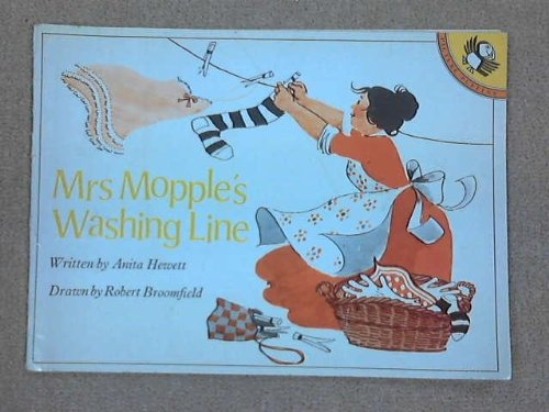 Mrs Mopple's Washing Line (Puffin Picture Books) By Anita Hewett