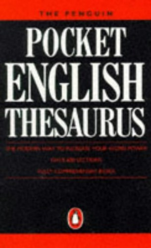 The Penguin Pocket English Thesaurus By Edited by Faye Carney