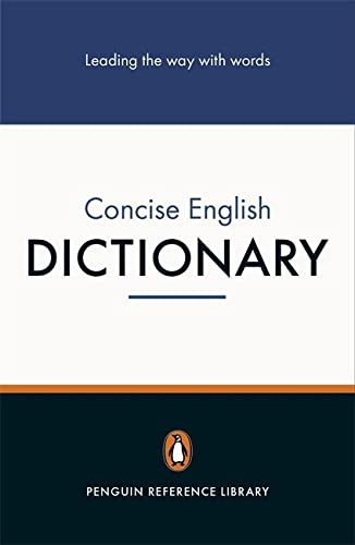 The Penguin Concise English Dictionary by Robert Allen