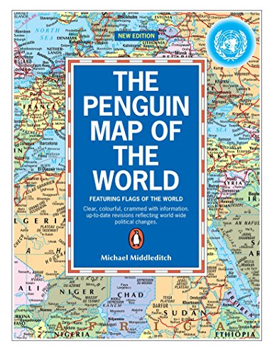 The Penguin Map of the World By Michael Middleditch