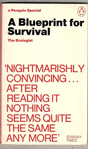 A Blueprint For Survival (Penguin Specials) By Edward Goldsmith