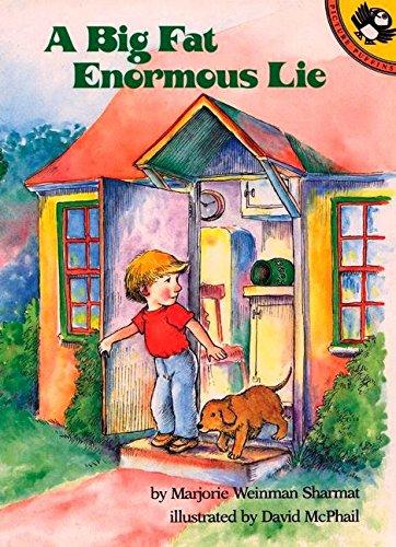 Sharmat & Mcphail : Big Fat Enormous Lie By Marjorie Weinman Sharmat