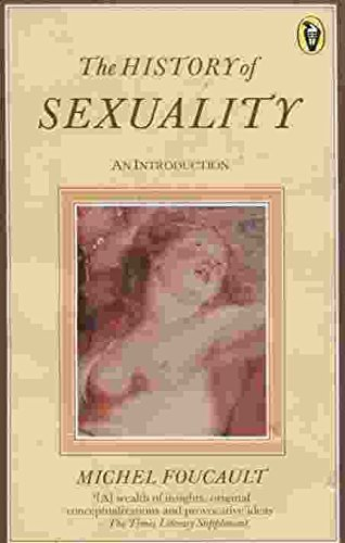The History of Sexuality,Vol.1 By Michel Foucault