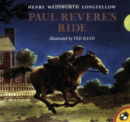 Paul Revere's Ride By Henry Wadsworth Longfellow