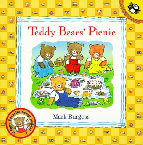 Teddy Bears' Picnic Lift-the-Flap (Picture Puffins) By Mark Burgess