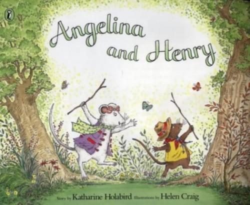 Angelina and Henry (Angelina Ballerina) By Katharine Holabird