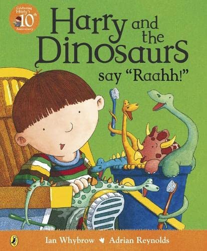 Harry and the Dinosaurs Say 'Rahhh!' (Picture Puffin) By Ian Whybrow