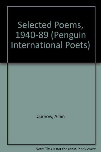 Selected Poems, 1940-89 By Allen Curnow