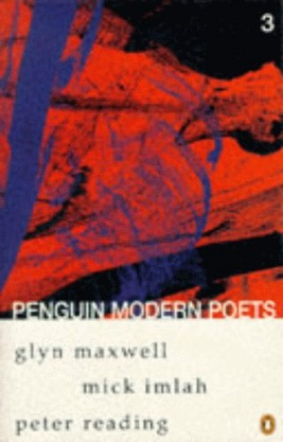 Penguin Modern Poets By Glyn Maxwell