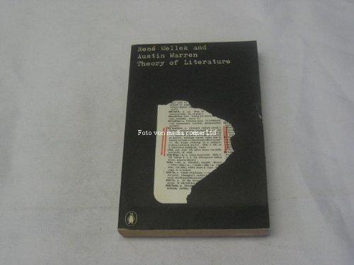Theory of Literature By Austin Warren