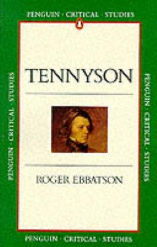 Tennyson By Roger Ebbatson