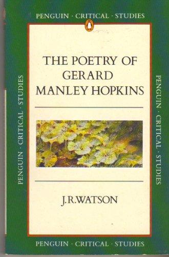 Poetry of Gerard Manley Hopkins By J. R. Watson