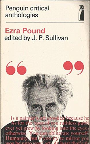 Ezra Pound By J. P. Sullivan