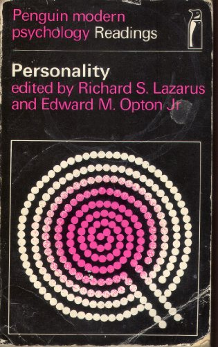 Personality By Richard S. Lazarus
