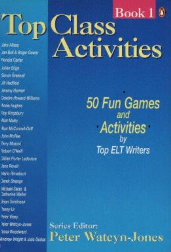 Top Class Activities By Peter Watcyn-Jones
