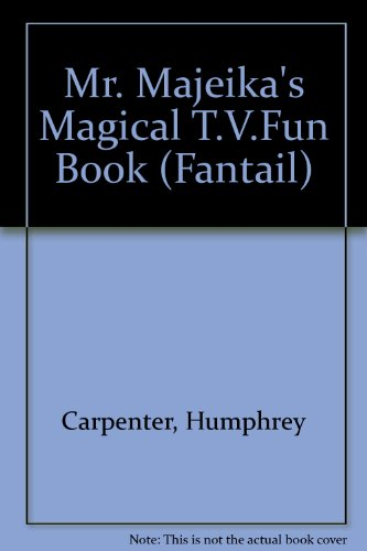Mr. Majeika's Magical T.V.Fun Book By Humphrey Carpenter