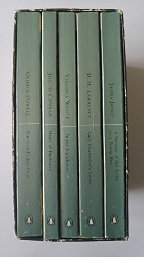 """C20 Classics Millennium (Mixed): """"Heart of Darkness"""", """"Nineteen Eighty-four"""", """"Lady Chatterley's Lover"""", """"Portrait of the Artist as a Young Man"""", """"To ... (Penguin Twentieth Century Classics S.) By Giftset"""