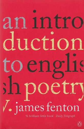 An Introduction to English Poetry By James Fenton