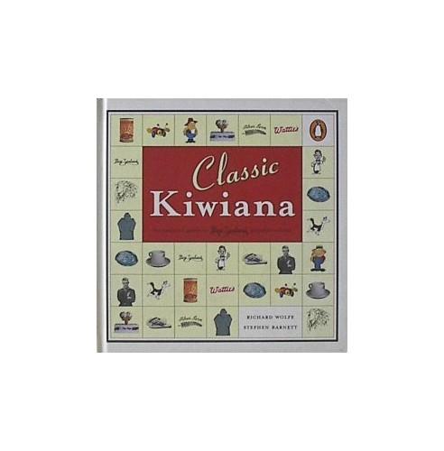 Classic Kiwiana *Whitcoulls Ex By Richard & Barnett Steve Wolfe