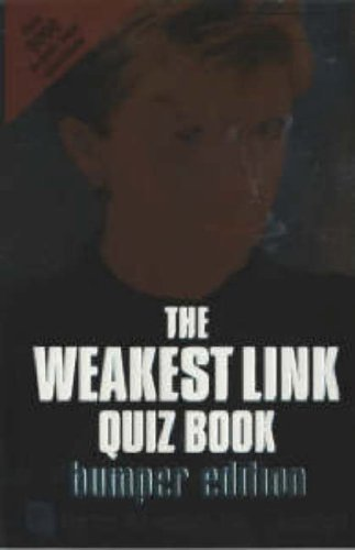 "The ""Weakest Link"" Quiz Book By Penguin Books (BBC)"