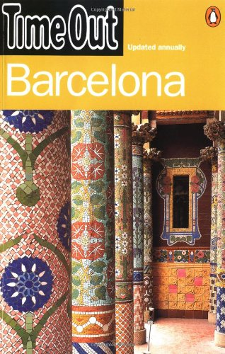"""Time Out"" Barcelona Guide By Created by Penguin Putnam"