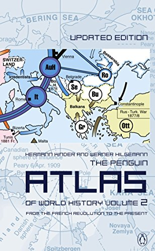 The Penguin Atlas of World History By Hermann Kinder