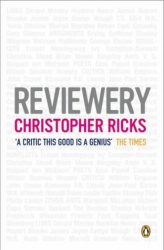 Reviewery By Christopher Ricks