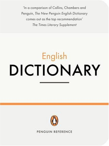 The Penguin English Dictionary (Penguin Reference) By Robert Allen