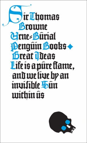 Urne-Burial (Penguin Great Ideas) By Thomas Browne