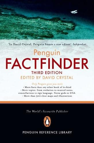 The Penguin Factfinder (Penguin Reference Library) By David Crystal