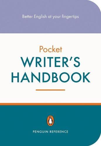 Penguin Pocket Writer's Handbook By Martin Manser