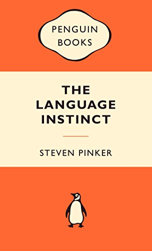 The Language Instinct By Steven Pinker