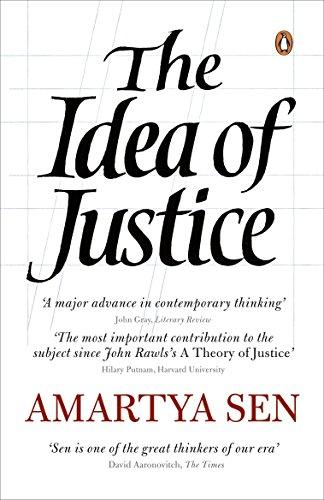 The Idea of Justice By Amartya Sen, FBA