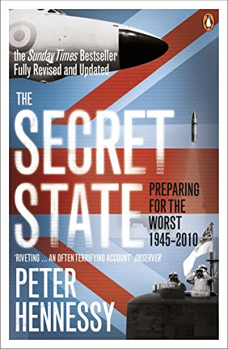The Secret State By Peter Hennessy