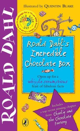 Roald Dahl's Incredible Chocolate Box By Roald Dahl