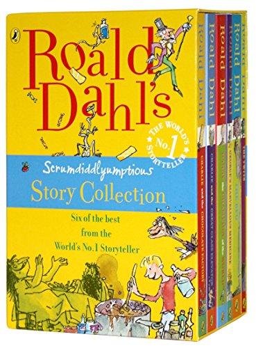 Roald Dahl's Scrumdidlyumptious Story Collection by Roald Dahl