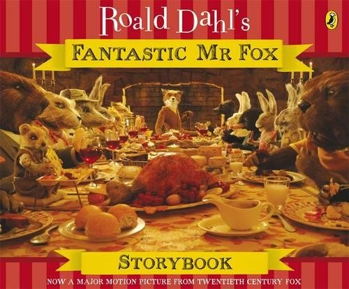 Fantastic Mr Fox Storybook by Roald Dahl