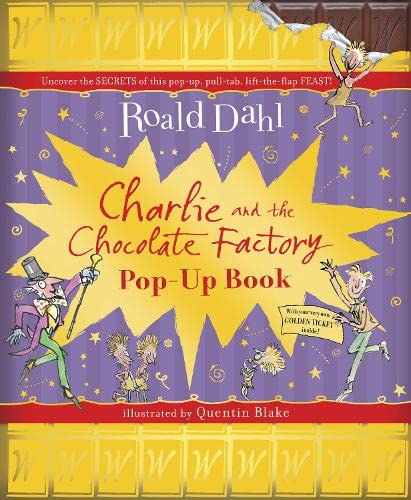 Charlie and the Chocolate Factory Pop-Up Book By Roald Dahl