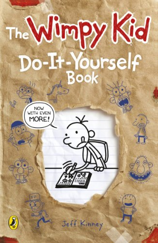 Diary of a Wimpy Kid - Do-it-yourself Book by Jeff Kinney