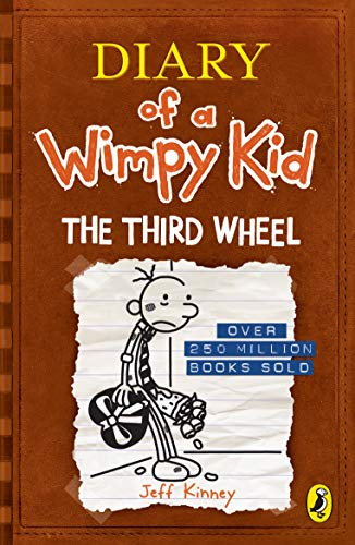 Diary of a Wimpy Kid: The Third Wheel by Jeff Kinney