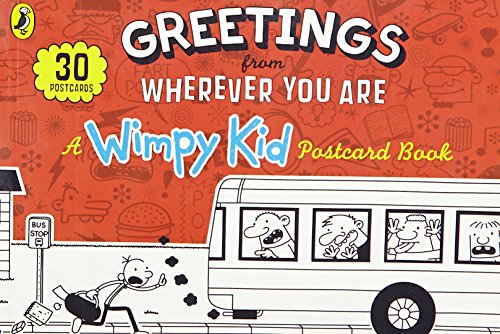 Greetings from Wherever You Are: A Wimpy Kid Postcard Book by