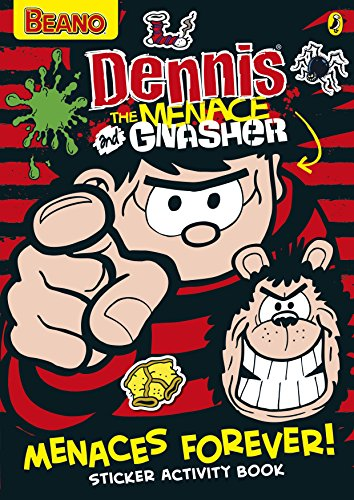 Dennis the Menace: Menaces Forever! Sticker Activity Book