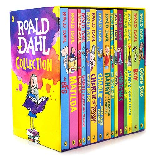 Roald Dahl 16 Book Box Set Collection By Roald Dahl
