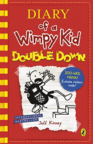 Diary Of A Wimpy Kid Double Down Diary Of A Wimpy Kid Book 11 By Jeff Kinney Used 9780141379029 World Of Books