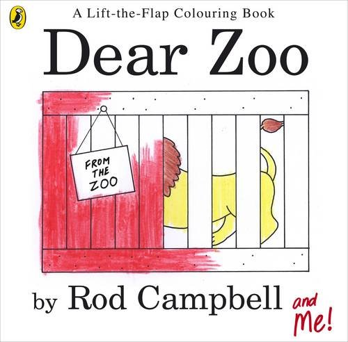 Dear Zoo Colouring Book By Rod Campbell