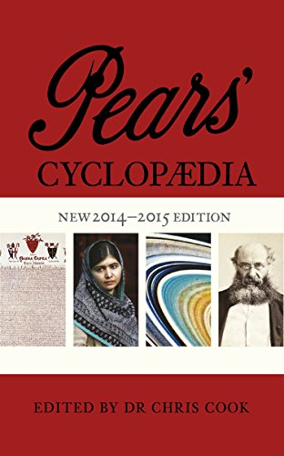 Pears' Cyclopaedia 2014-2015 By Chris Cook